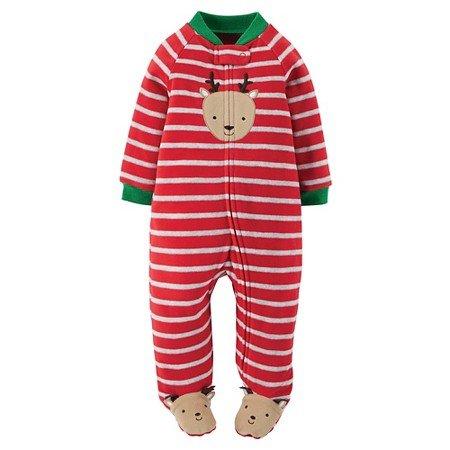 c4f44d7f0e Blanket Sleepers – Carter s Just One You Baby Boys  Long-Sleeve Footed  Blanket Sleeper (Newborn