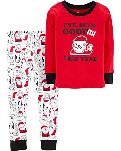 c4ac9ff64 Pajama Sets – Carter's Little Boys Christmas 2-Piece Snug Fit Cotton  Toddler PJs (3T)