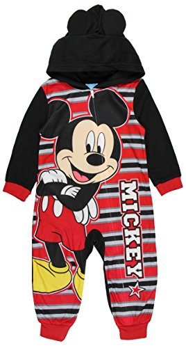 e257b399c Pajama Sets – Disney Mickey Mouse Little Boys Mickey Stripes Hooded Blanket  Sleeper (3T) Offers