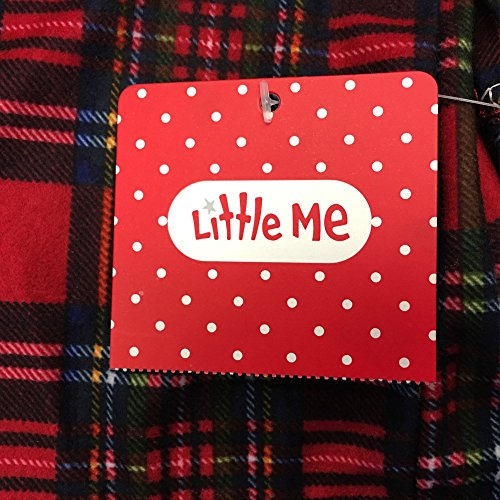 2543dbadf Blanket Sleepers – Little ME Baby Boy's Plaid Holiday Pajama Footie (6  months)