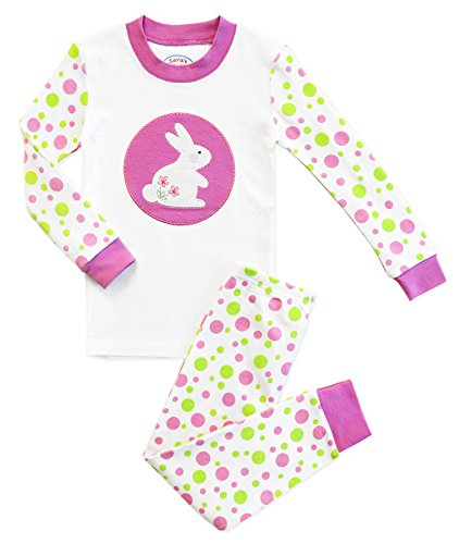 cd23a0010 Pajama Sets – Polka Dot Bunny Girls' 2 Piece Cotton Pajama Set, No Tail  Kids Size 4 Offers